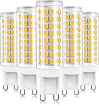 G9 LED Bulbs 10W, Equivalent to 80W 100W Halogen Bulbs, Warm White 3000K, No Flicker, 1000 LM, Not Dimmable, Energy Saving...