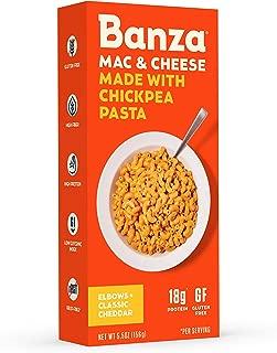 banza chickpea pasta nutritional value