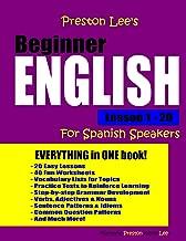 Preston Lee's Beginner English Lesson 1 - 20 For Spanish Speakers
