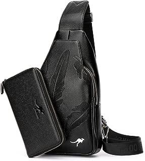 Sling Bag With Wallet Multipurpose Waterproof Travel Hiking Riding Chest Shoulder Sling Crossbody Bag.