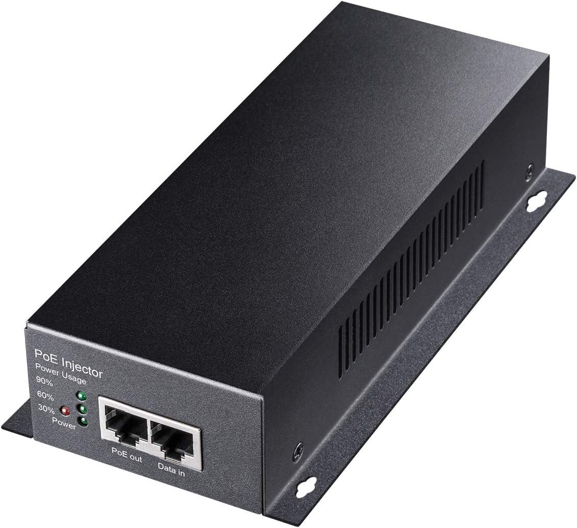 Cudy 90 Watts Gigabit PoE++ Injector, 10/100/1000Mbps PoE Adapter, 90W / 60W / 30W / 15.4W PoE Power Budget, PoE / PoE+ / PoE++ Adapter, IEEE 802.3af / 802.3at / 802.3bt Compliant, 48V ~ 52V (POE350)