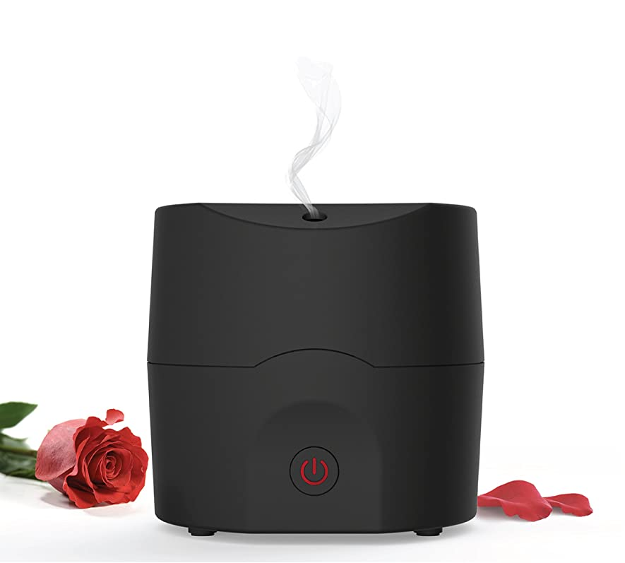 電話をかけるプレビスサイト役員Alpha Aroma Best essential Oil Diffuser, Scent and fragrance ultrasonic Aromatherapy - Now with Belgian Design, 160ml, Extra Long Cord, Timer, Auto Shut Off, Soft Rubber Black Paint
