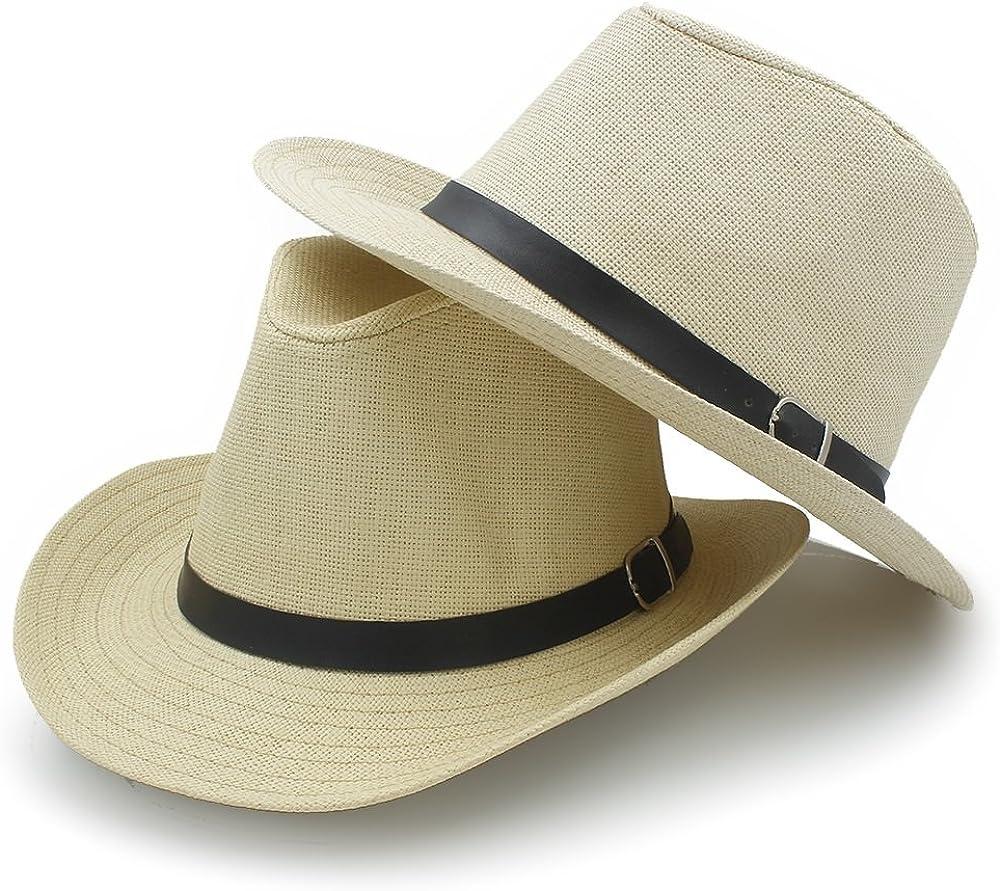 Summer Ranking TOP17 Beach Sun Hat Fashion Women Sombrero Charlotte Mall Western Men Straw Co