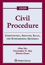 Civil Procedure: Constitution, Statutes, Rules, and Supplemental Materials, 2020 (Supplements)