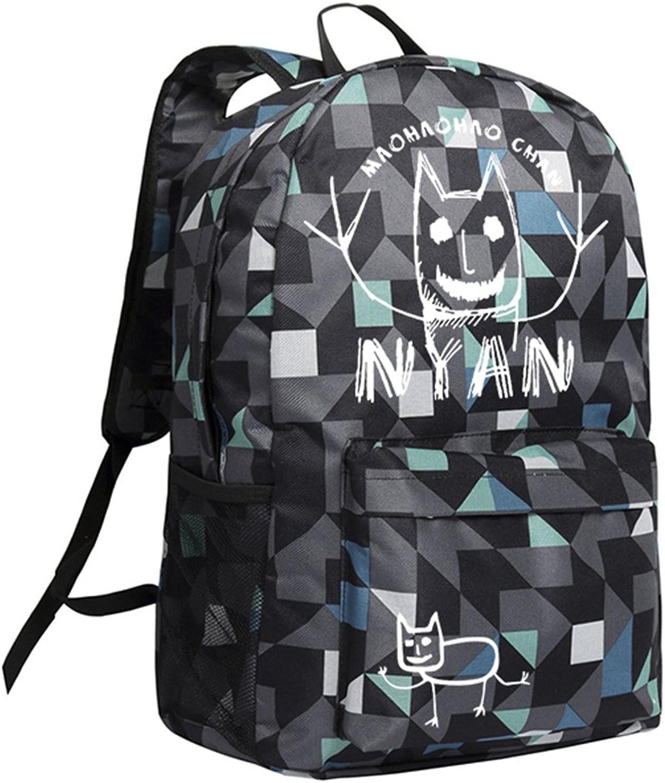 Gumstyle Hoozuki no Reitetsu Backpack Plaid School Bag Classic Schoolbag