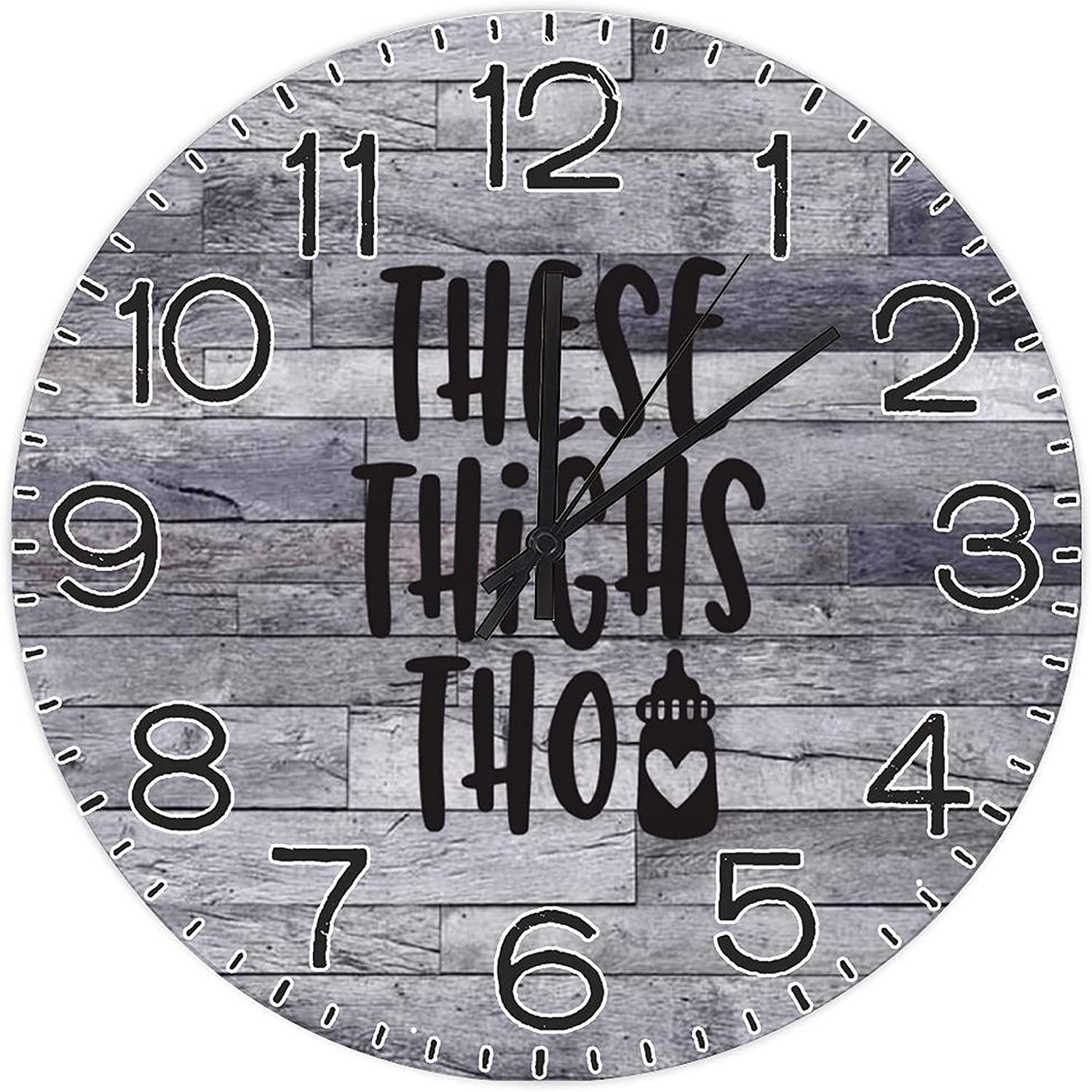 Max 43% OFF by Unbranded Decorative Wall Bombing new work Clock Babie Thighs Baby THO These