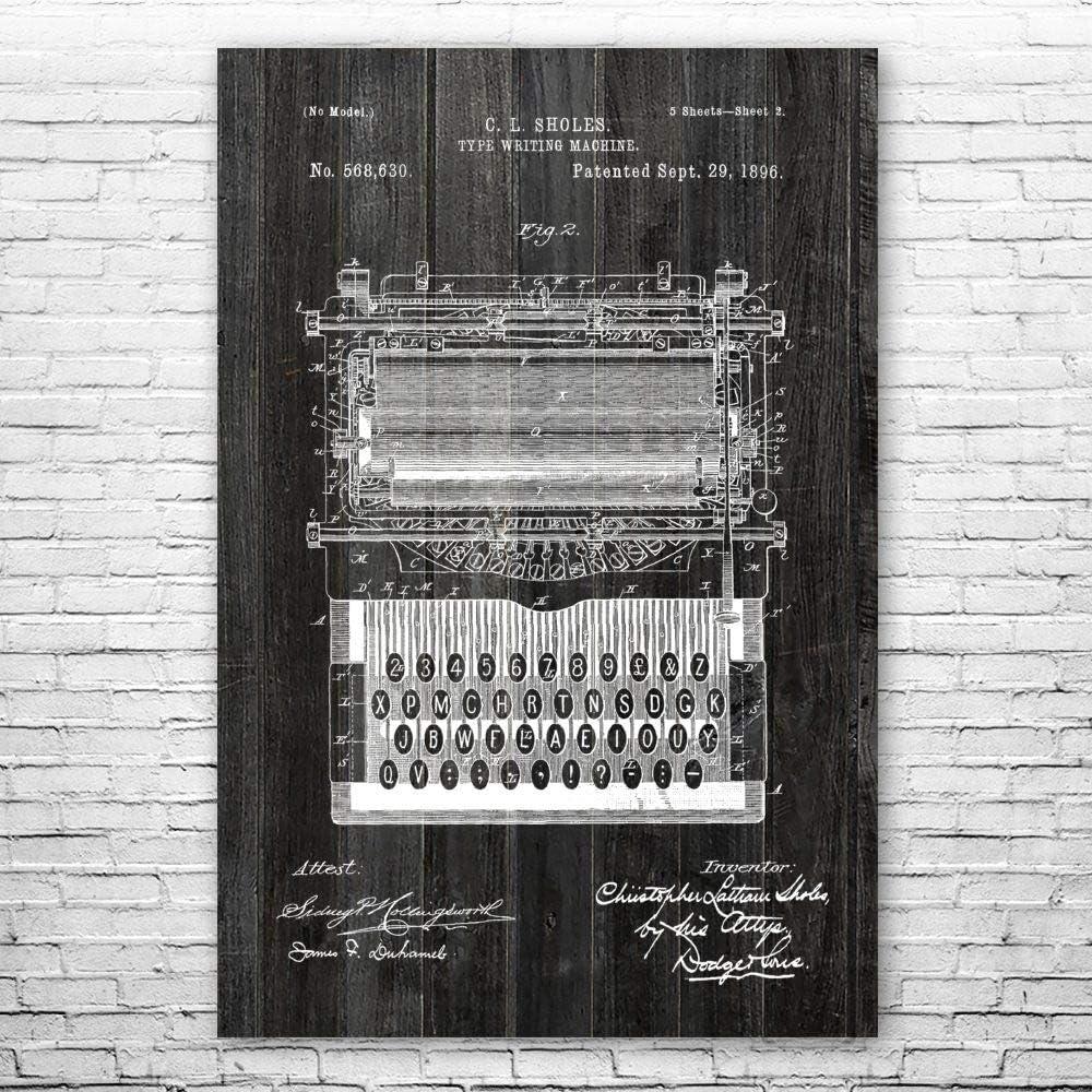 Typewriter San Antonio Mall Poster Print Writer Cheap SALE Start Gift Journalist Typewrite