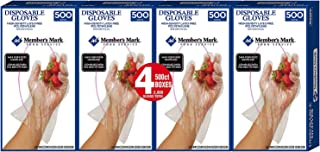 Daily Chef Plastic Disposable Gloves (2,000 ct.)