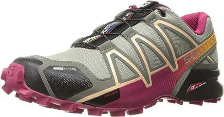 Tênis Feminino Speedcross 4 CS 392406 Cinza/Pink - Salomon - 36