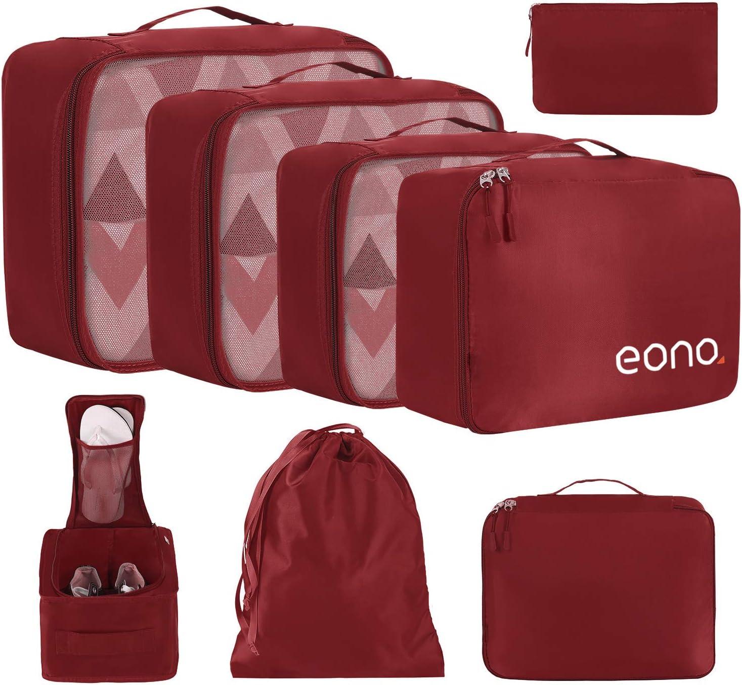 Eono by Amazon - 8 Set Cubos de Embalaje