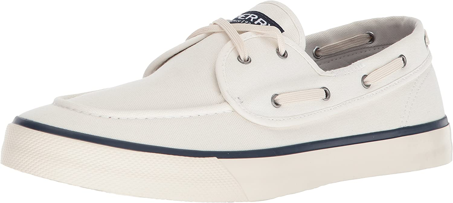 Sperry Top-Sider Hommes's Captains 2-Eye paniers, blanc, 13 M US