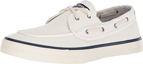 Sperry Top-Sider Hommes's Captains 2-Eye paniers, blanc, 8 M US