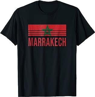 Marrakech Morocco Vintage Retro T-Shirt Vacation