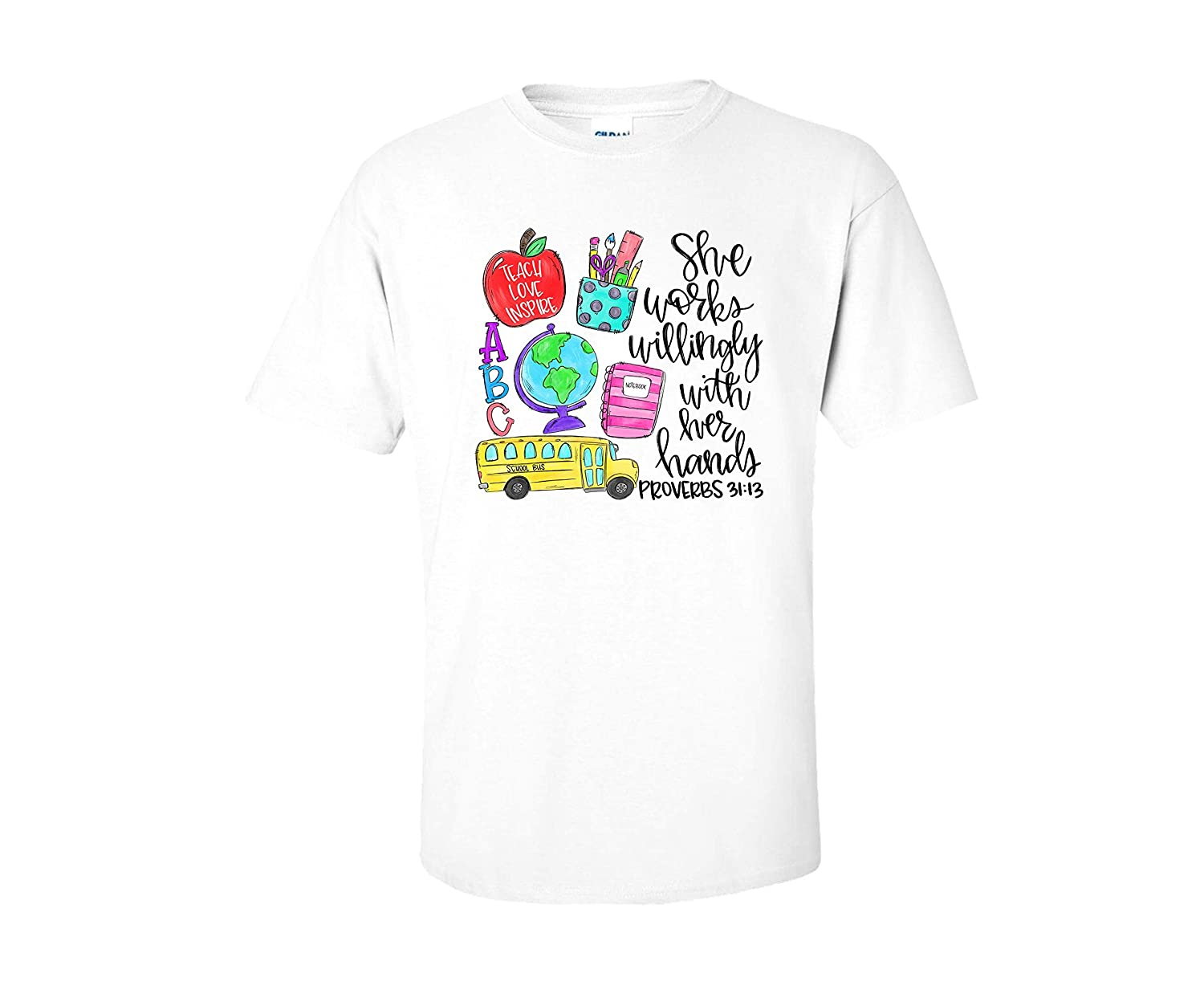 She Works Willingly Memphis Mall With Her Hands Te Sale Gifts for Instructor Shirt