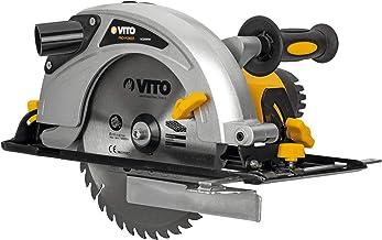Sierra Circular Saw Force 2100 Vito Pro-Power | Potencia 2100W | Velocidad rotación 4500rpm | Diámetro Disco 235mm