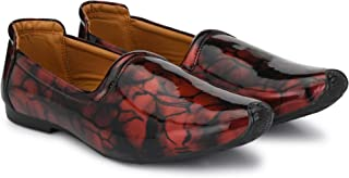 Vellinto Leather Royal Look Formal Casuals Slip On Shoes for Men
