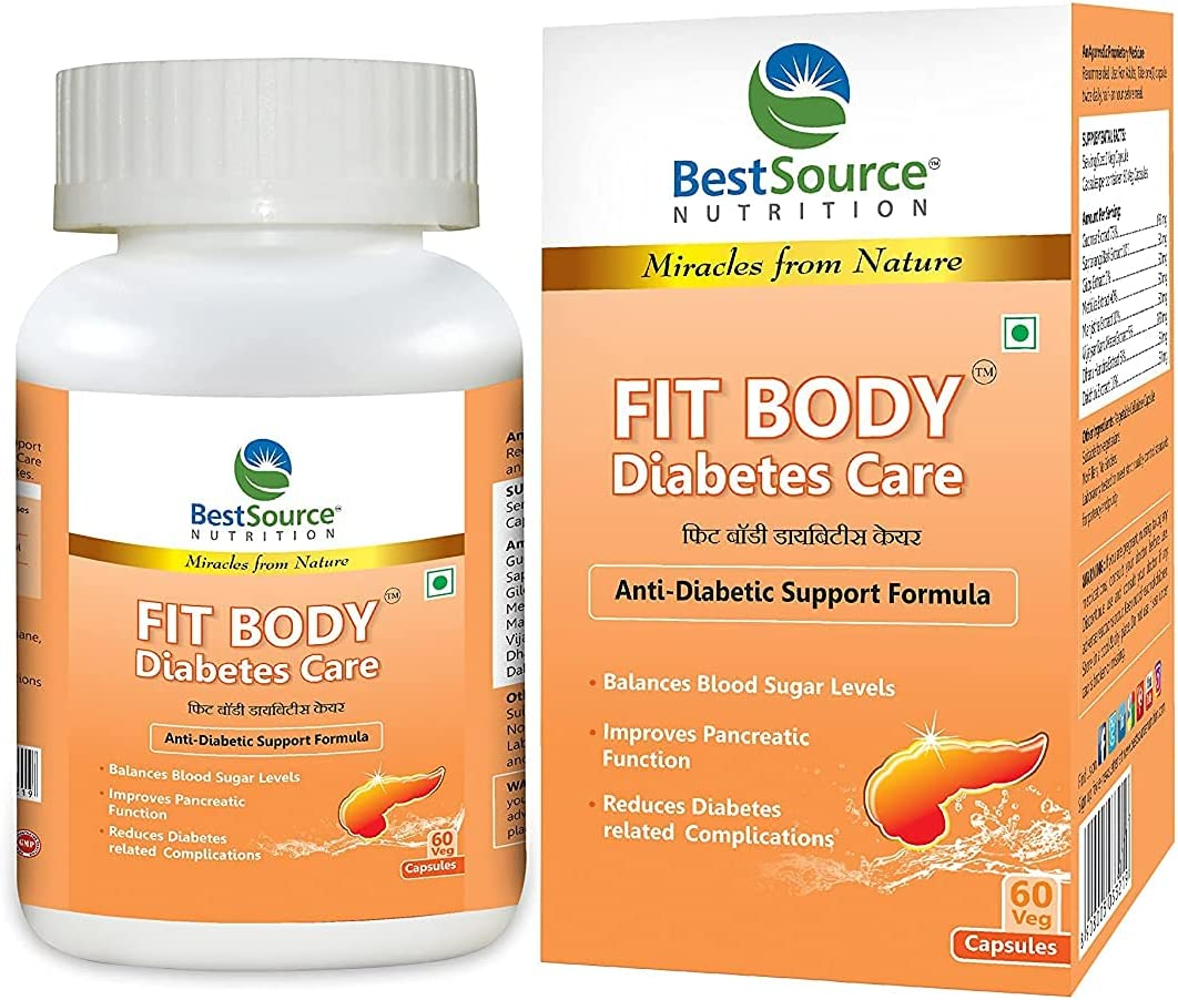 Fashion Swara BestSource Fit Body Diabetes Anti-Diabetic Care Support Fo Free Shipping New