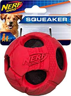 Nerf Dog 2.5in Rubber Sonic Ball 2-Pack - Blue and Green