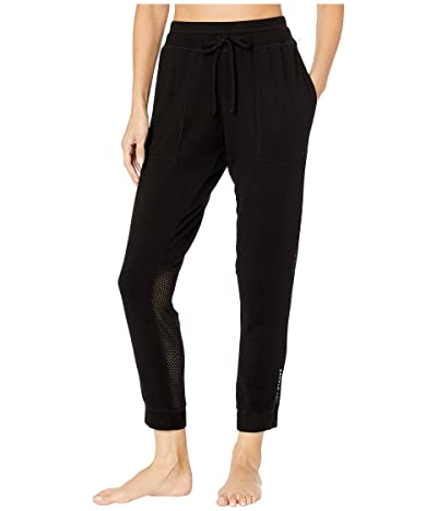 good hYOUman Delphine Exhale Love Sweatpants (Black Sand) Women