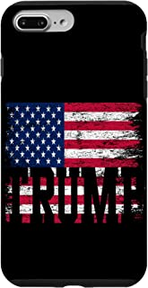 iPhone 7 Plus/8 Plus USA Flag 2020 4th Of July Gifts Donald Trump Case