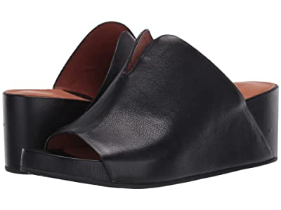 Gentle Souls by Kenneth Cole Gisele 65 Mule (Black Leather) Women