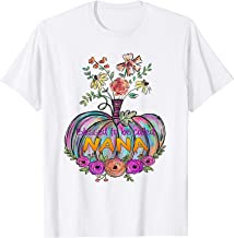 Blessed To Be Called Nana Pumpkin Halloween Tshirt