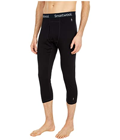 Smartwool Merino 150 Baselayer 3/4 Bottoms (Black) Men
