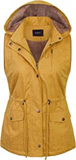 Womens Military Anorak Safari Utility Vest
