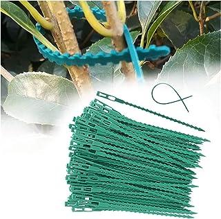 Corbata de cables de nylon, 30 / 50pcs Planta de plástico ajustable Lazos para cables, vínculos de cable reutilizables, pa...