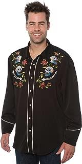 Best skull western shirt Reviews