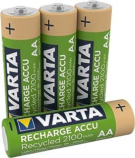 VARTA Recharge Accu Recycled 4 AA 2100 mAh