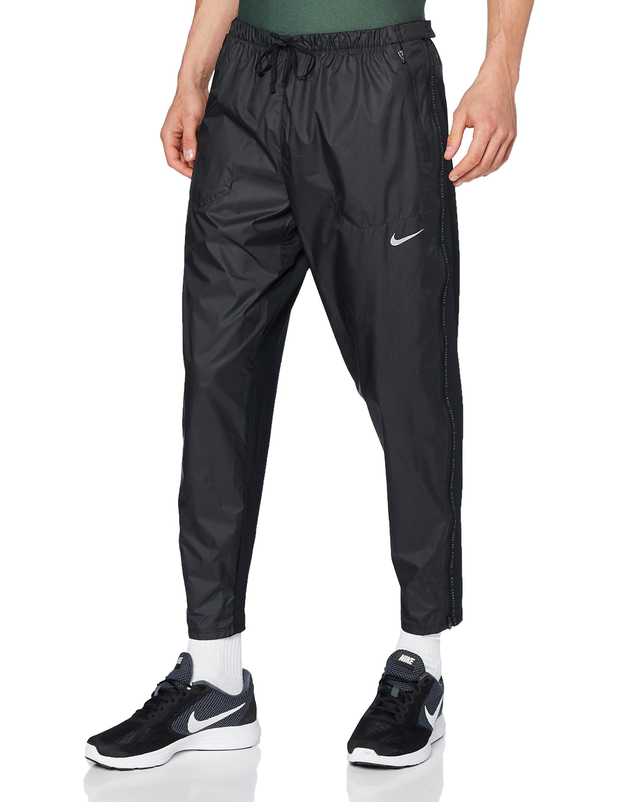 Nike Herren Rn Dvn Phnm Elite Shild Sporthose, Black/Black/Reflective Silv, XL