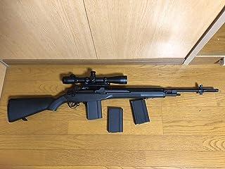 東京マルイ M14 ODストック リューポルドマーク4スコープ ノーマルマガジン×2 多弾マガジン×1