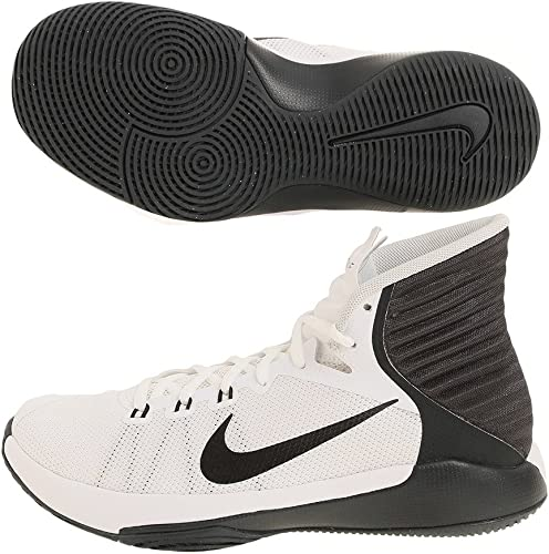 Nike 844792-100, Chaussures de Basketball Femme