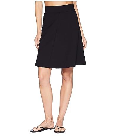 Royal Robbins Geneva Ponte Skirt (Jet Black) Women