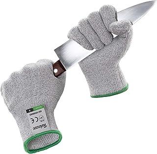 Twinzee® Guanti Anti Taglio - Protezione di Livello 5 ad Alte Prestazioni, Grado Alimentare, Certificato EN 388, 1 paio (Extra Large)