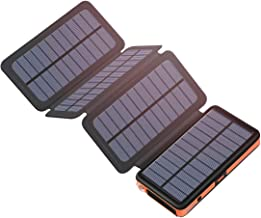 Best solar powered battery pack Reviews