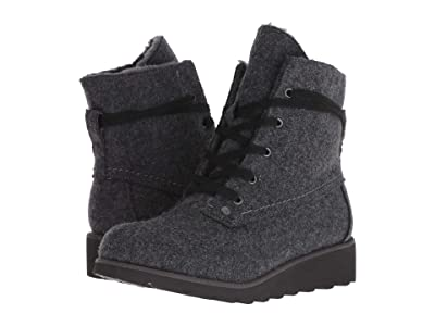 Bearpaw Krista (Gray Wool) Women
