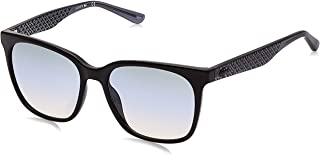 LACOSTE Women's L861S Sunglasses, Black, 55.0