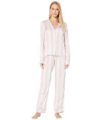 Splendid Notch PJ Set (July Stripe) Women