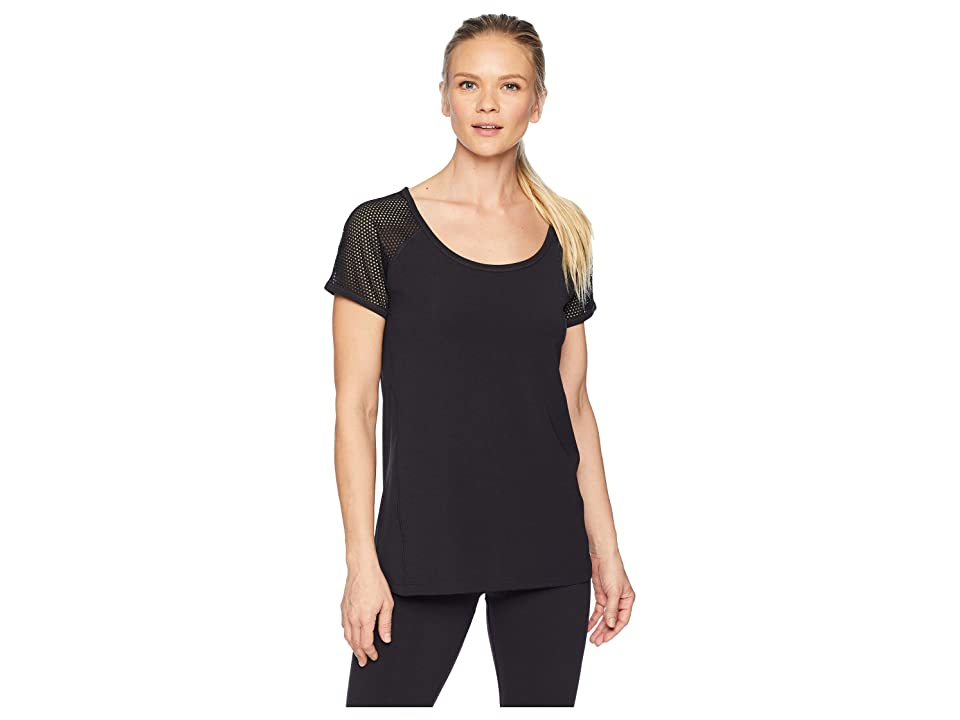 Lorna Jane Bring It Active Short Sleeve T-Shirt (Black) Women