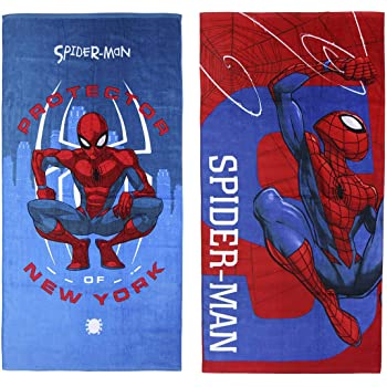 70 x 140 cm Spiderman Toalla de ducha dise/ño de Spiderman