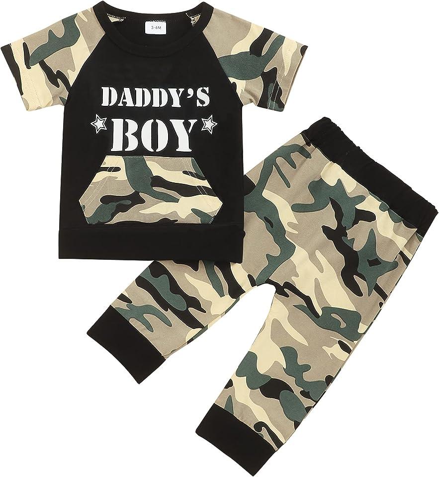 Baby Jungen Babykleidung Set Kleinkind Kapuzenpullover Dinosaurier Langarm Kurzarm Hoodie Brief Sweatshirt Hosen Camouflage Outfits