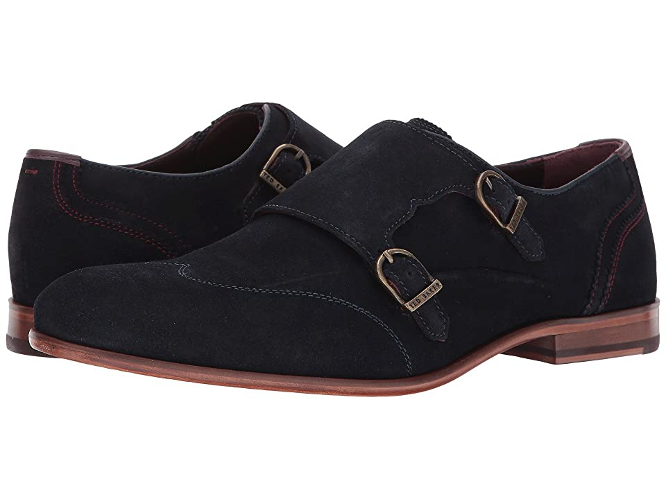 Ted Baker Rovere (Dark Blue Suede) Men