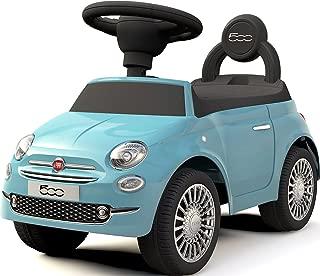 乗用玩具 フィアット500 FIAT500 足けり乗用/乗用玩具/押し車/ST玩具/乗物玩具/手押し玩具/足けり/おもちゃ/のりもの (ブルー)