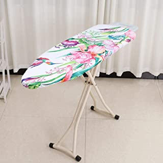 LKEREJOL Heat Resistant Easy Fitted Sheet Ironing Board Cover Universal Digital Printed(Hummingbird)