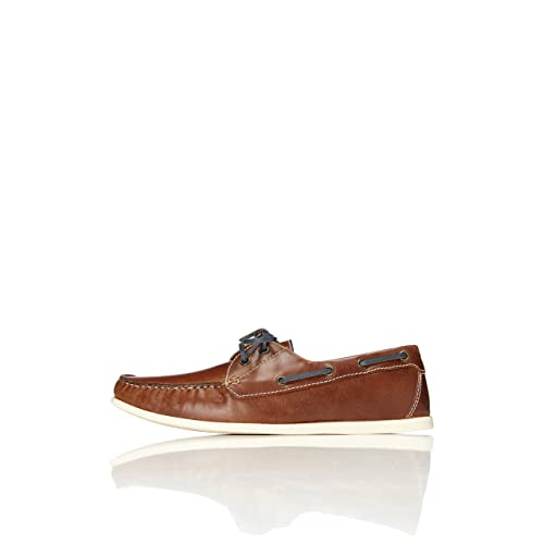 4fc509089e FIND Men s Boat Shoes with Stitching and Contrast Colours