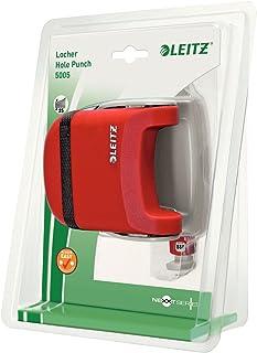 Leitz Nexxt 25 Sheet Hole Punch - Red