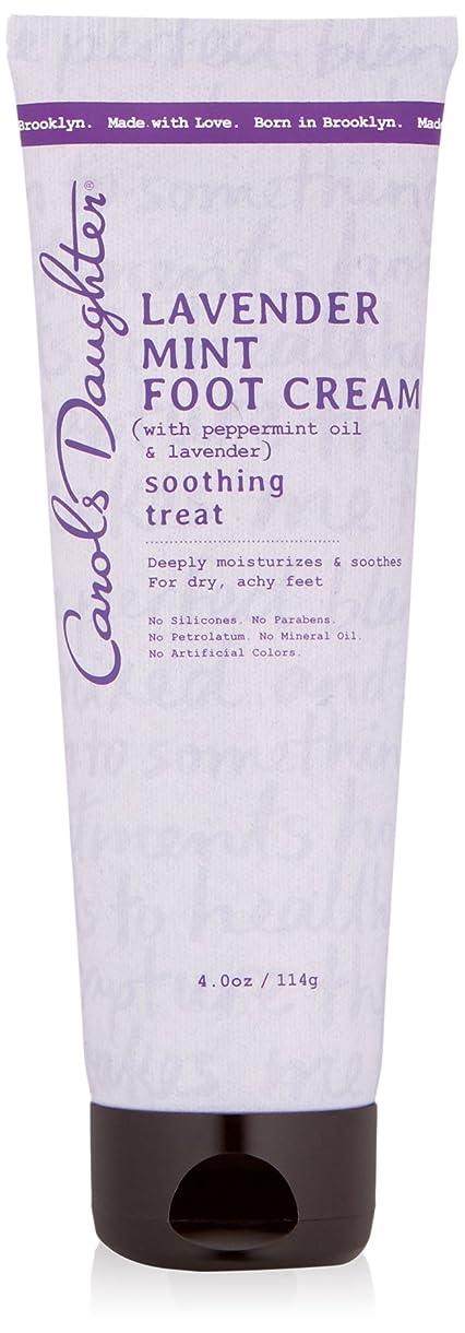 国内のようこそ疑いキャロルズドーター Lavender Mint Foot Cream 114g/4oz並行輸入品