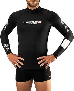 Cressi Men's Rash Guard Man Long Sl Black Dive Center Rash Guard Man Long Sl Long Sleeves